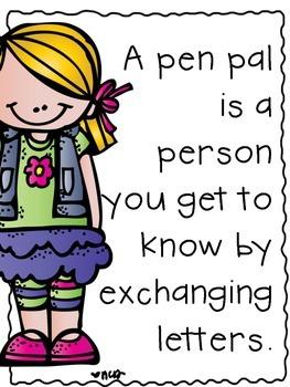 clip art transparent Writer clipart pen pal. Pals literacy activities letters.