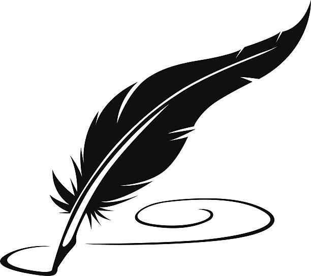 image Writer clipart quill. Writing station