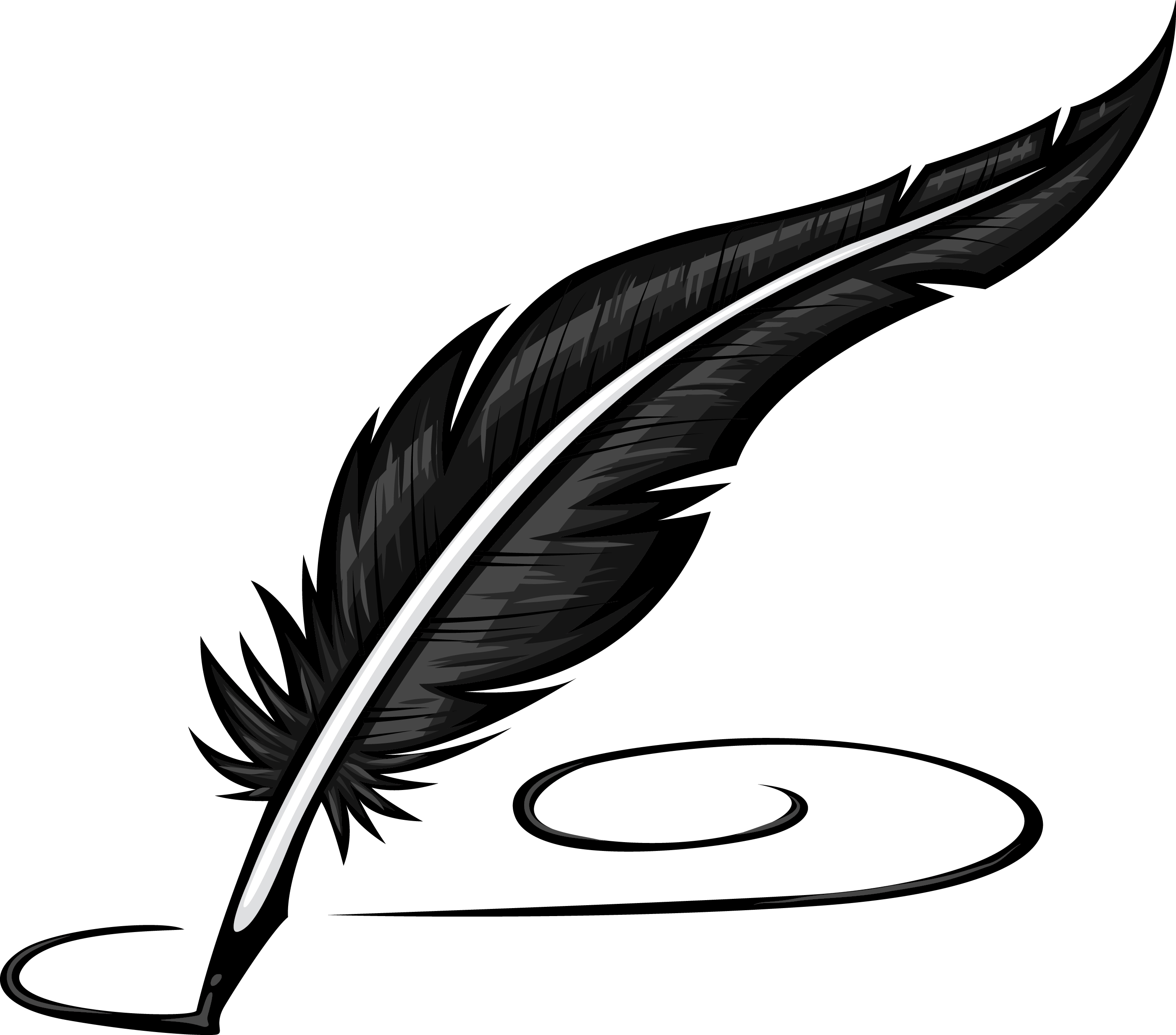 clip library stock  clipartlook. Writer clipart quill