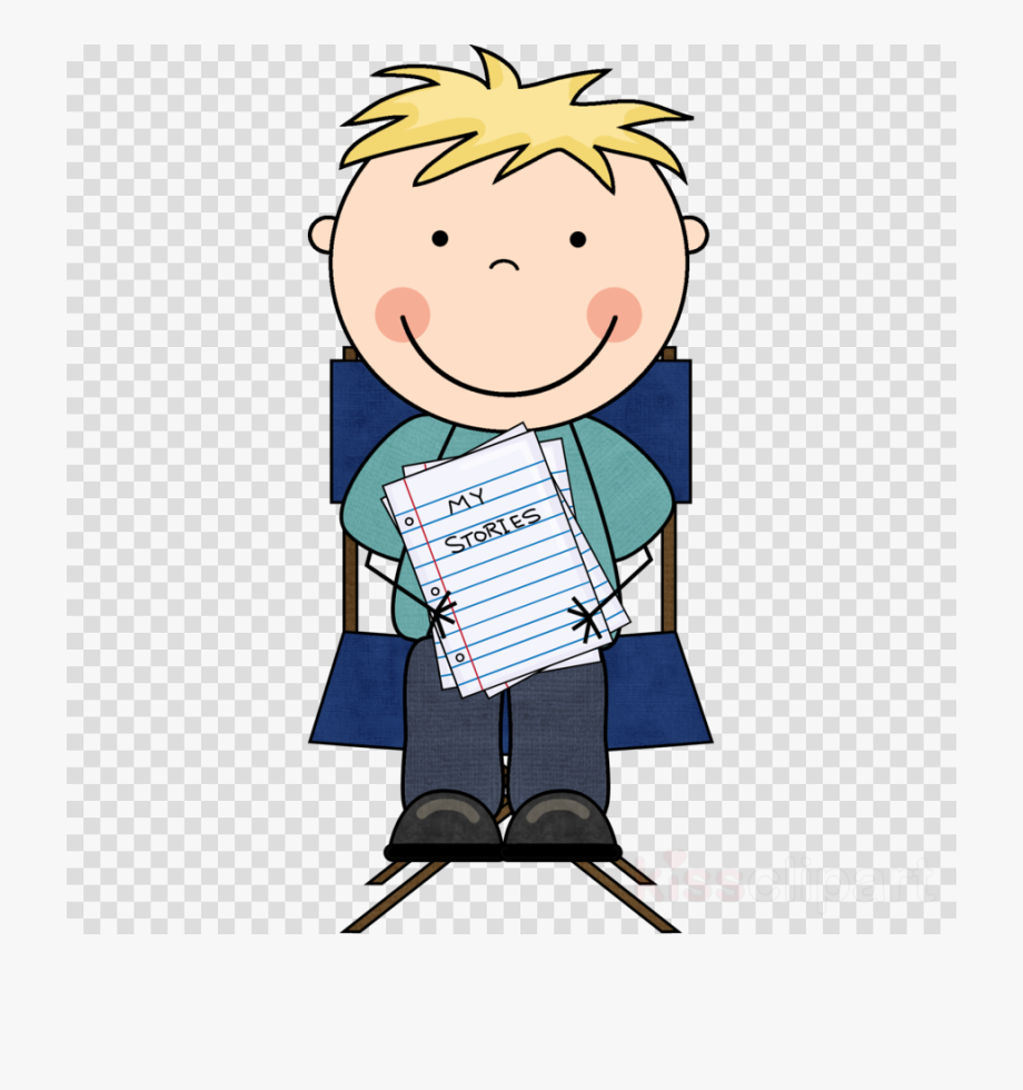 graphic transparent Latest transparent png image. Writer clipart reading writing.
