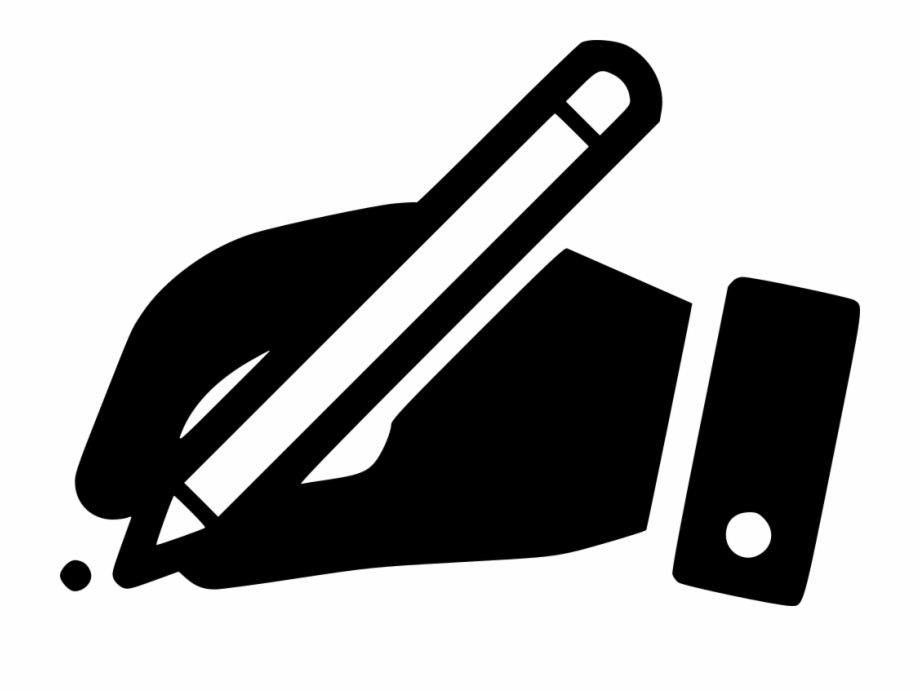 image stock Sign hr write contract. Writer clipart signature hand