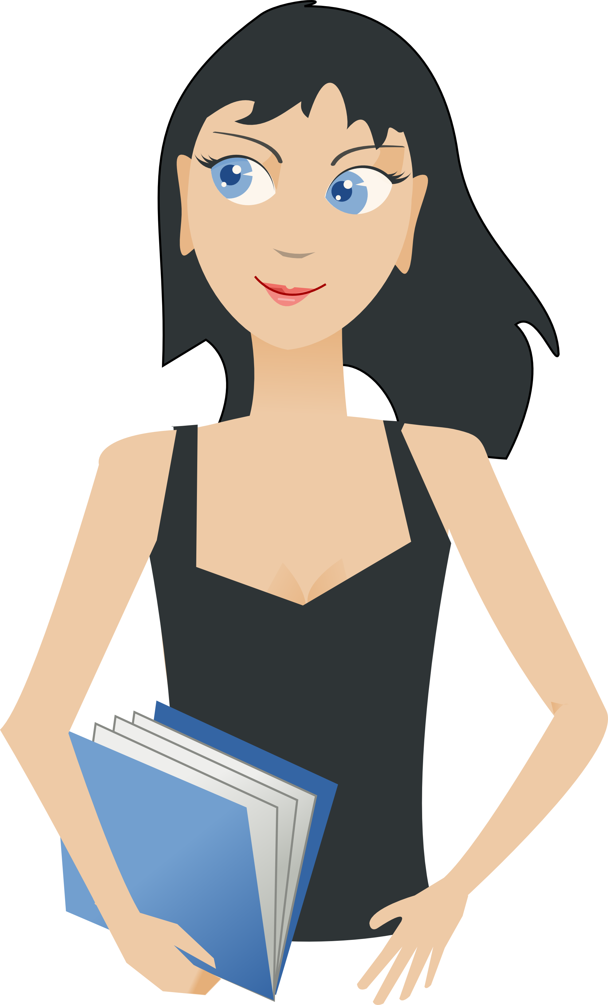 clipart black and white library . Writer clipart statement purpose