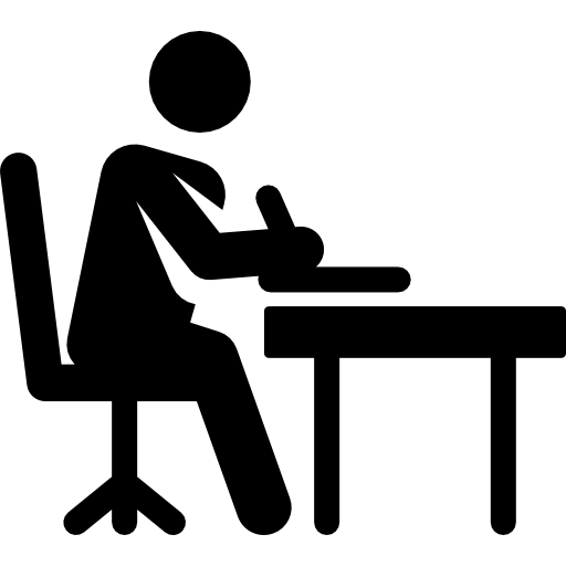 clip black and white stock Writer clipart stick figure. Writing computer icons clip.