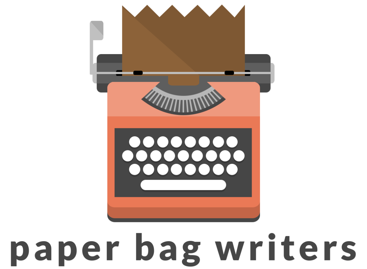 picture library library Paper bag writers stories. Writer clipart story writing