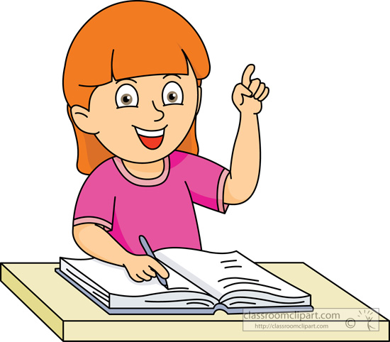 jpg library Of students writing clip. Writer clipart studen.