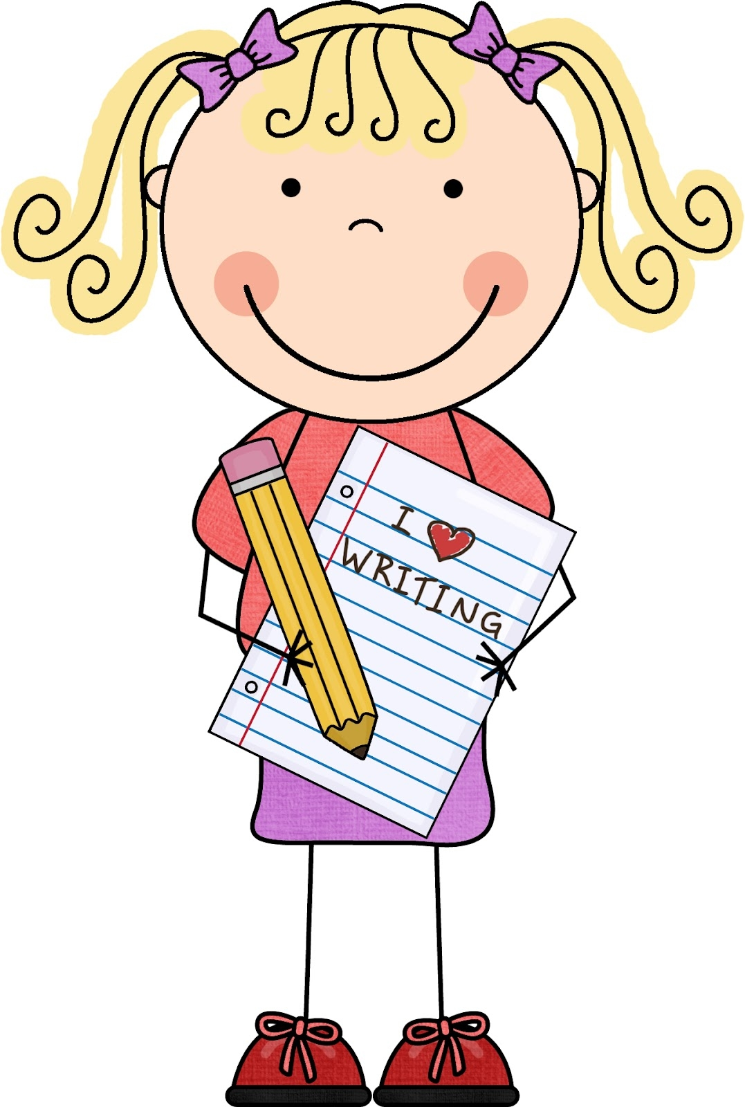 clip freeuse Free cliparts download clip. Writer clipart student reflection