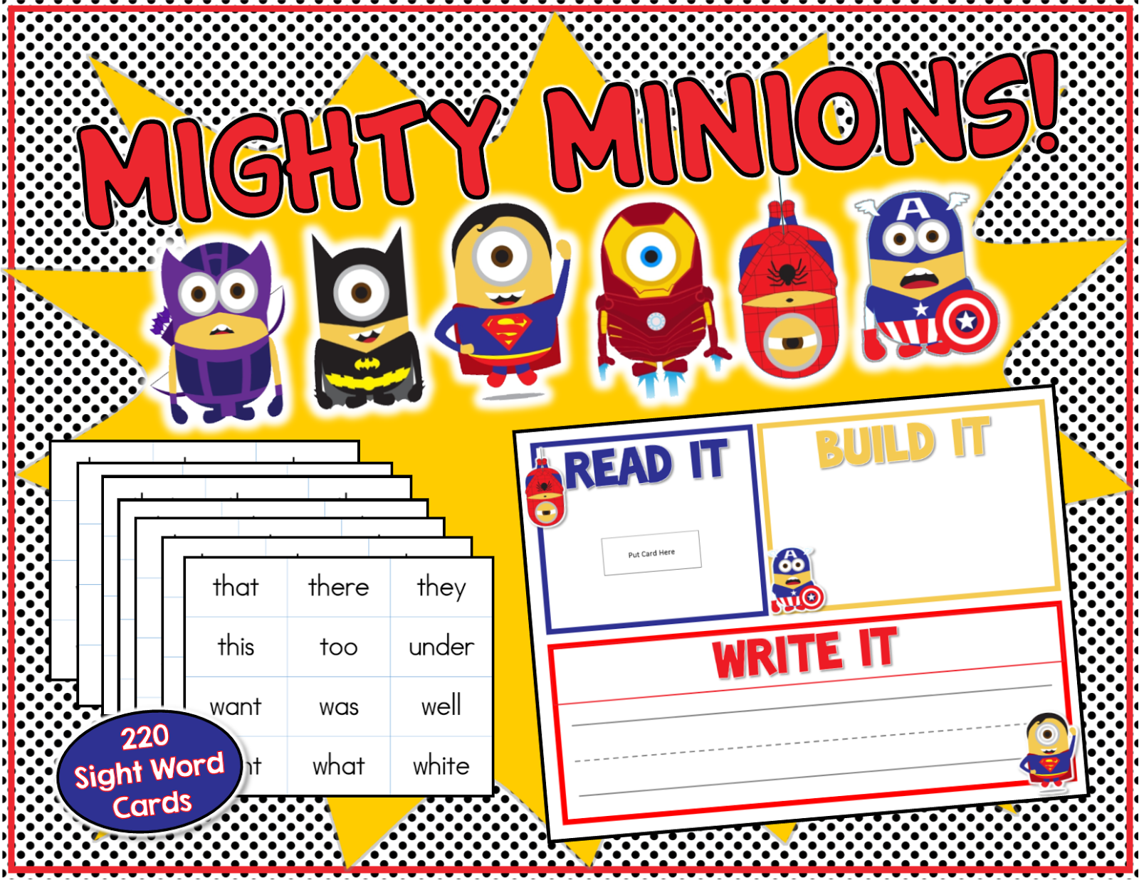 image library stock Writer clipart word work center. Mighty minions and don