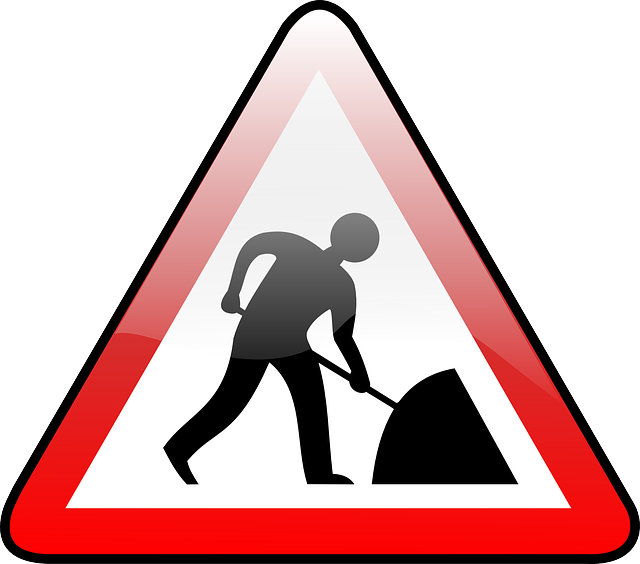 picture library stock Readers merita king constructionwork. Writer clipart work sign.