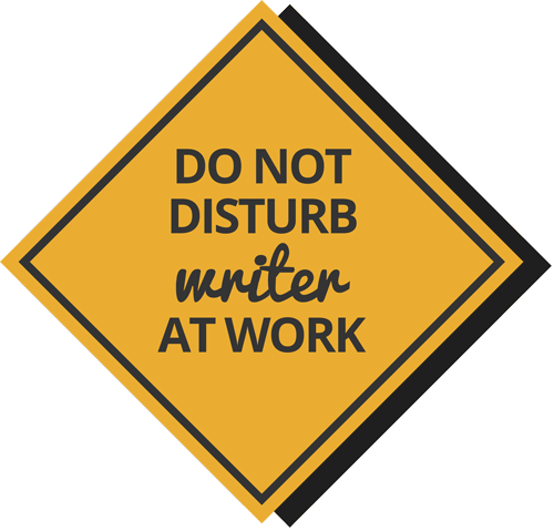 png royalty free download Writer clipart work sign. Rogue women writers i.