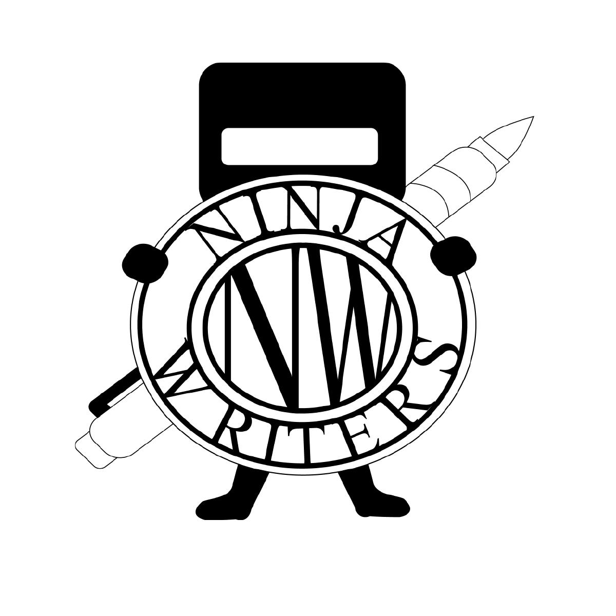 image transparent Ninja writers the community. Writer clipart writing club