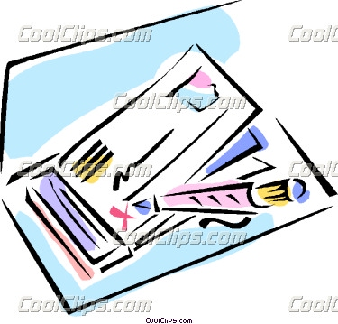 clipart royalty free download Writing a check clipart. Panda free images .