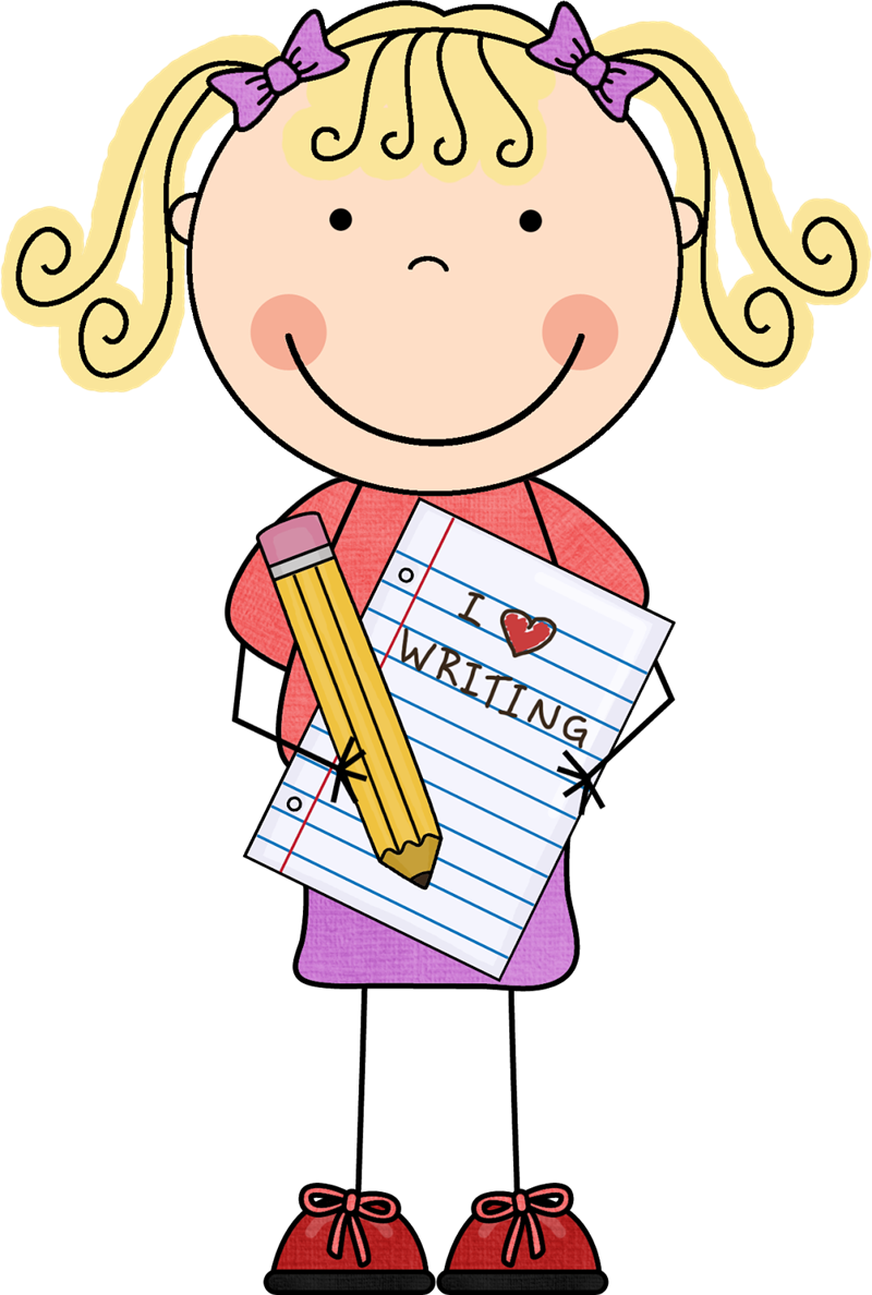clip art transparent stock Writing journal clipart. Clarke ginger in kindergarten.