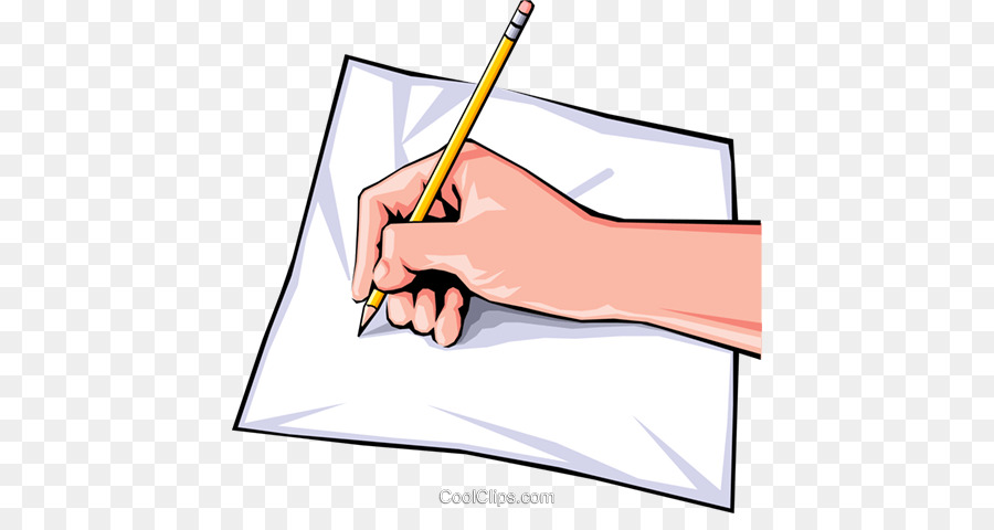image royalty free Writing cartoon paper hand. Writer clipart writ