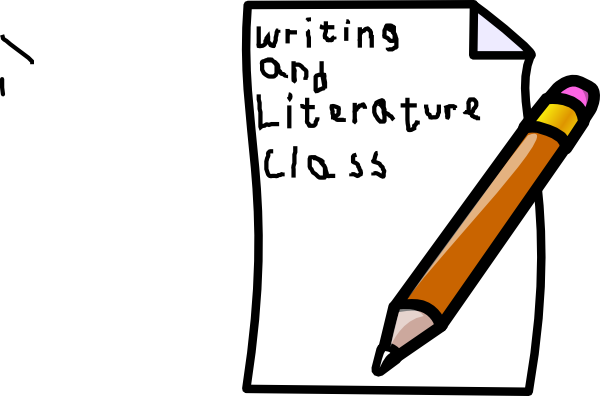picture royalty free Writing class cover clip. Writer clipart written warning