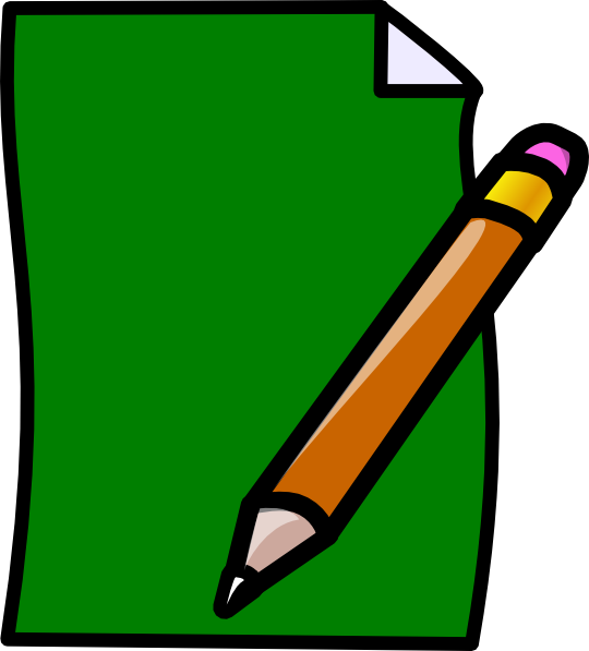 graphic royalty free Writing paper clipart. Clip art at clker.