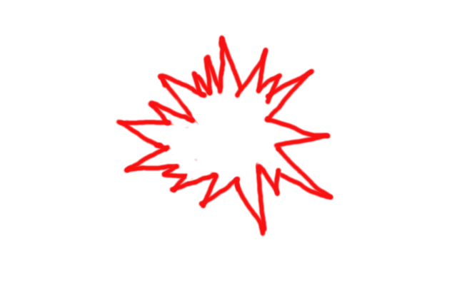 jpg transparent Collection of free Explosion drawing