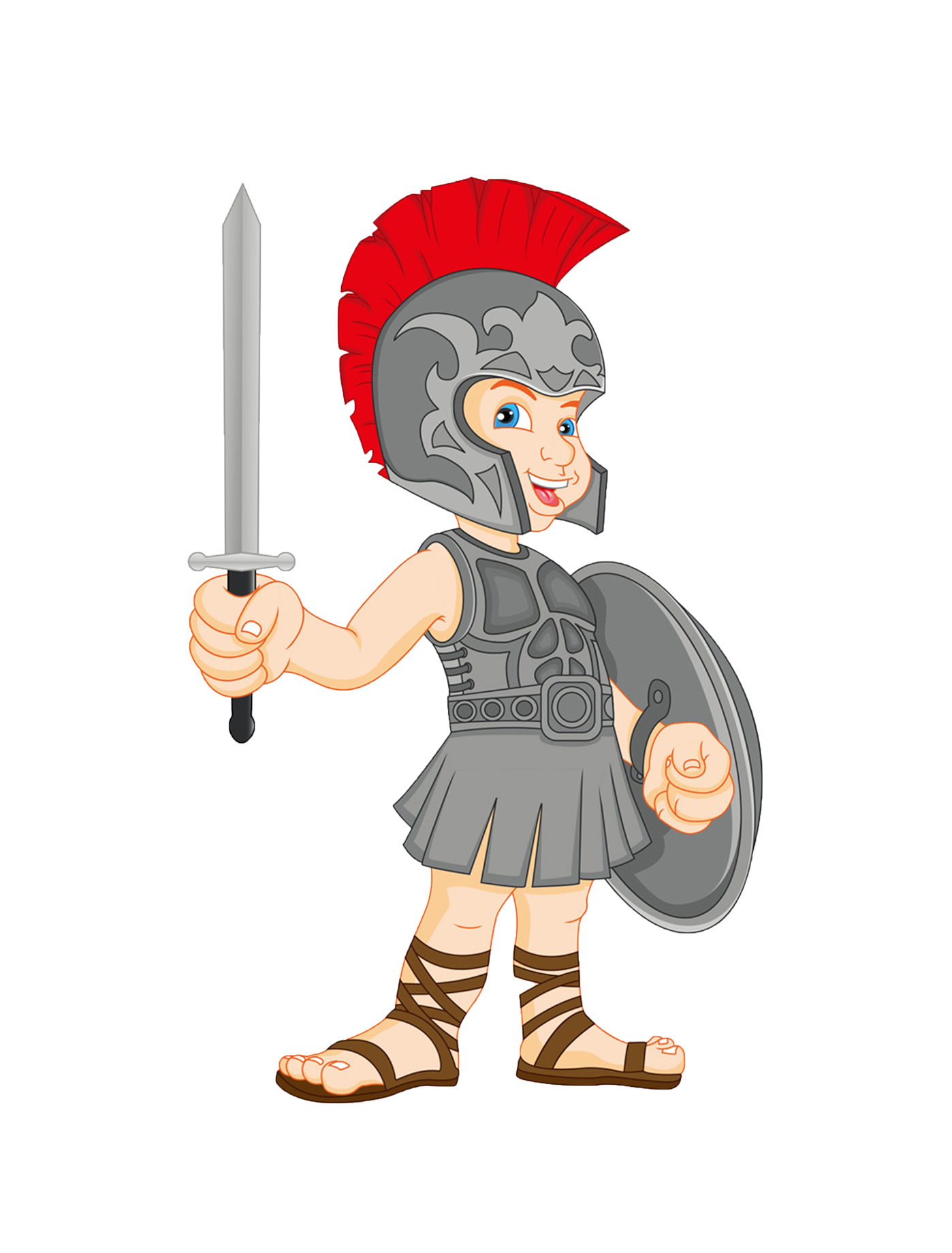 clip art library Bean drawing gladiator. Clip art cartoon samurai