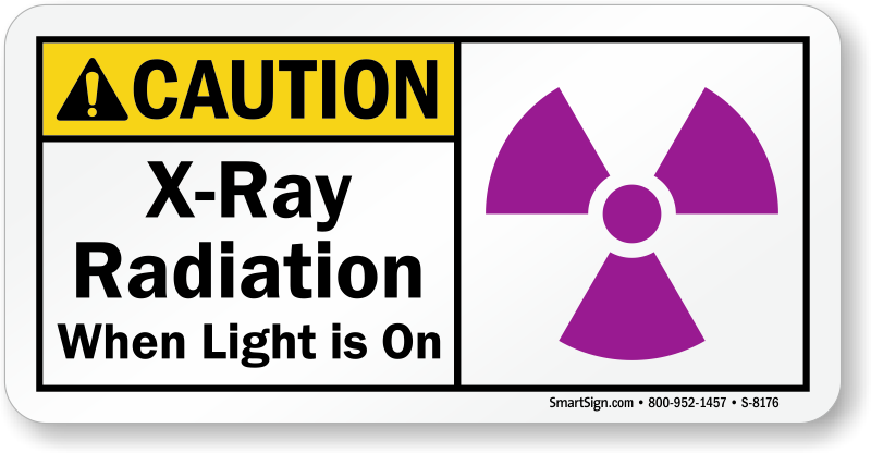 vector transparent stock Ray radiation warning signs. X rays clipart