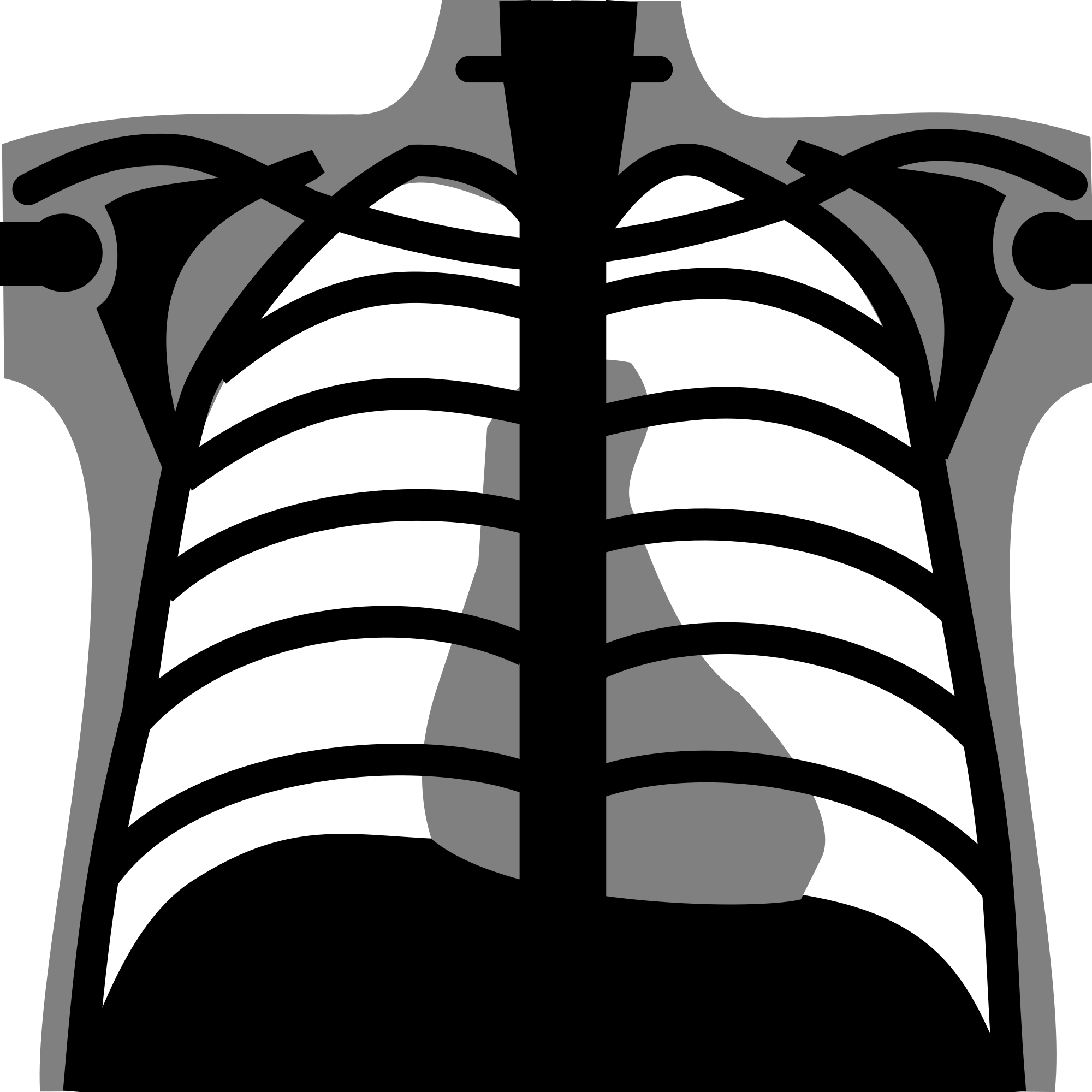 royalty free download File chest icon svg. X rays clipart