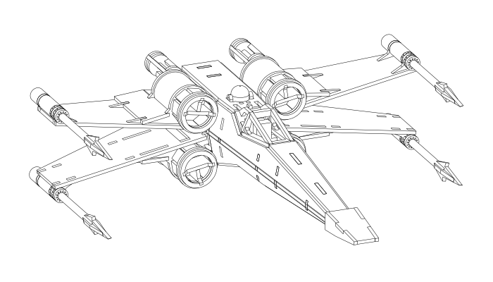 vector free stock Drawing at getdrawings com. X wing clipart