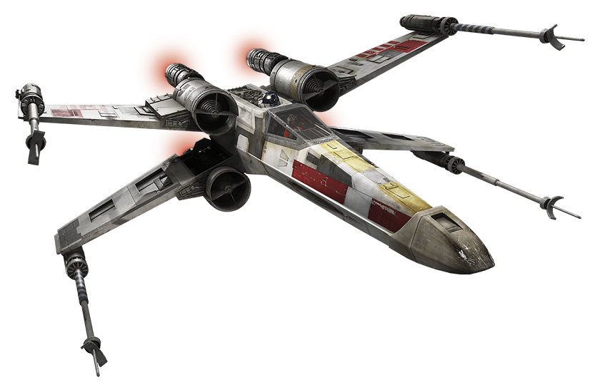 clip transparent download Star wars png images. X wing clipart