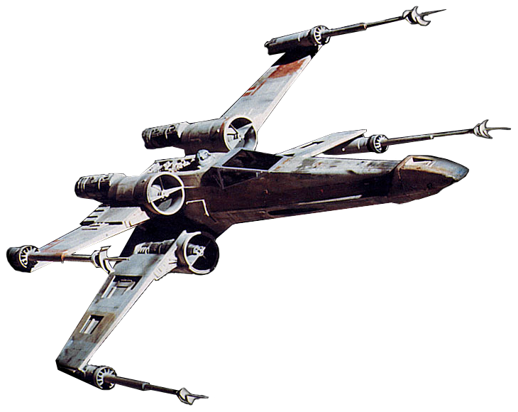 picture library download Star wars png image. X wing clipart
