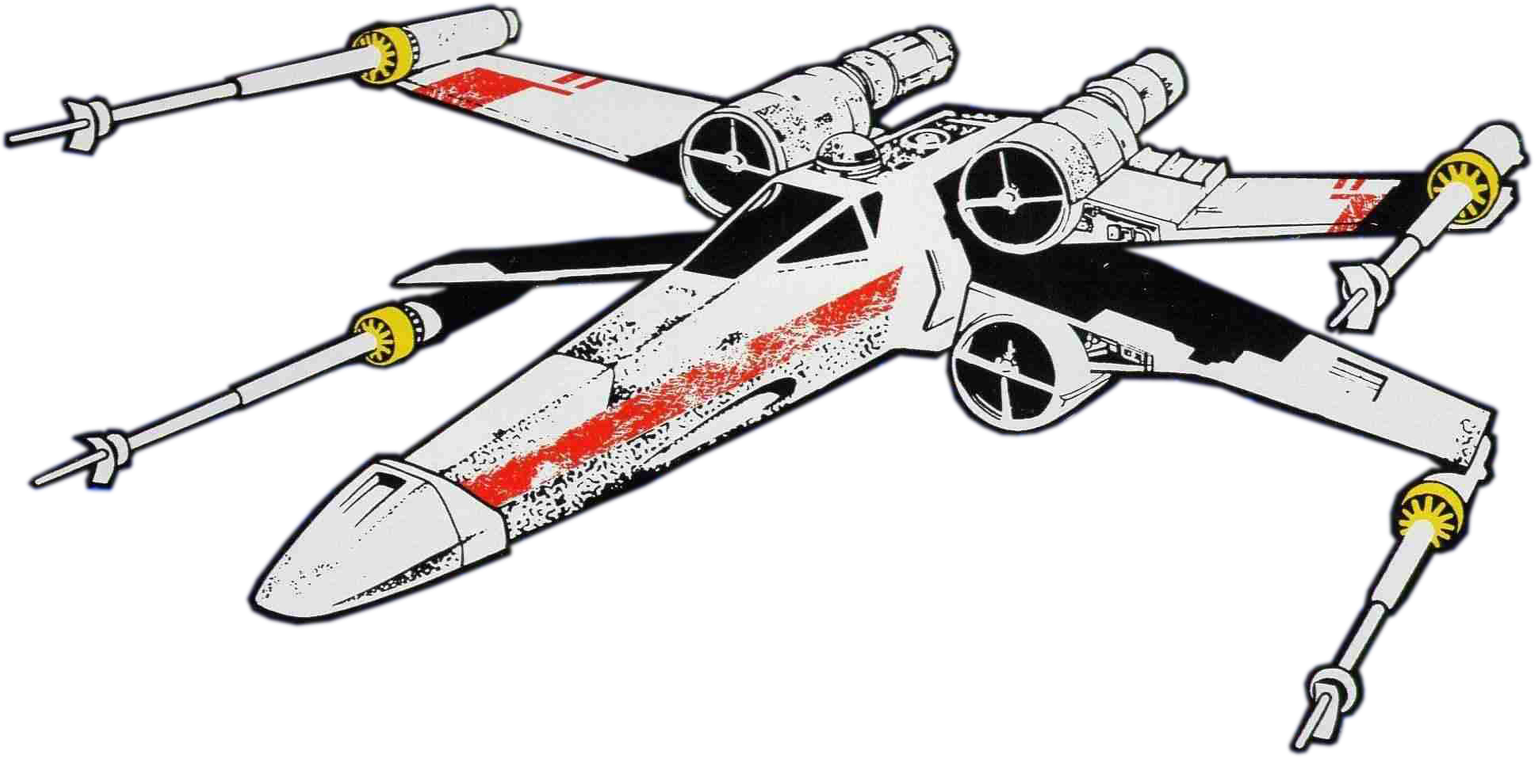 svg transparent X wing clipart.  collection of fighter