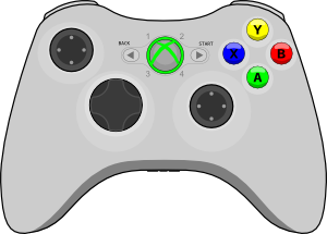 jpg transparent stock Xbox clipart. Controller clip art at