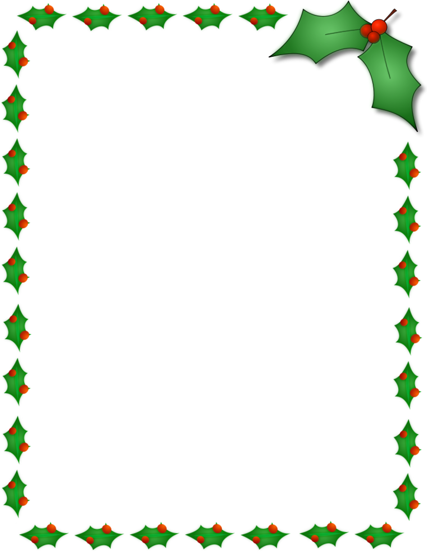 banner transparent library  free border designs. Christmas clipart borders.