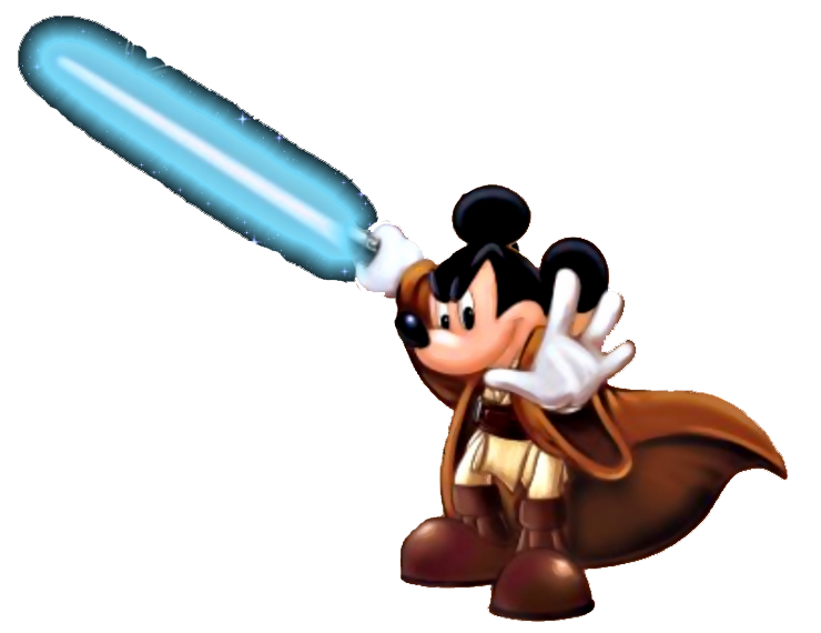 graphic library stock Star Wars Mickey Mouse Clipart