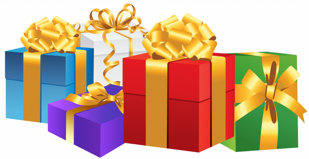 vector royalty free stock xmas presents clipart #66852973