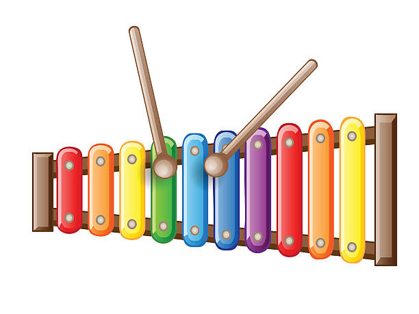 svg black and white stock Xylophone clipart. Free download best on