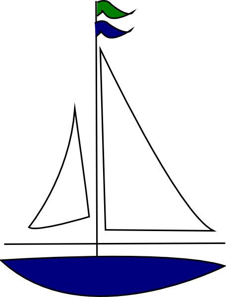 royalty free library Sailing gym clipart