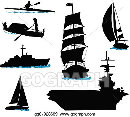 clip library stock Eps illustration boats vector. Yacht clipart 3 boat