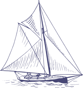 png black and white Blue clip art at. Yacht clipart.