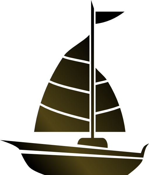 image freeuse stock Yacht clipart animated. Simple sailboat