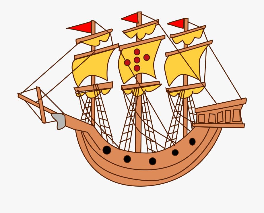 clipart library download Yacht clipart big boat. Sail sailboat sailing ship