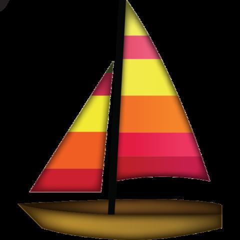 jpg royalty free stock Yacht clipart big boat. Download sail emoji island