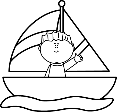 svg free Yacht clipart black and white. Sailboat clip art images
