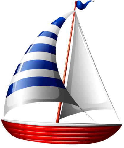 vector download Nautical Sailboat Clipart