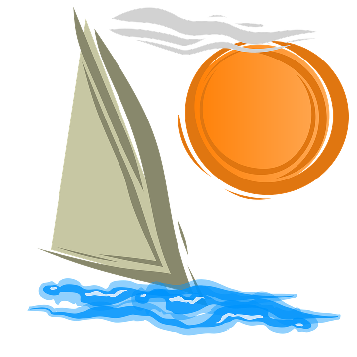 clip art black and white library Summer explore pictures sailing. Yacht clipart boat