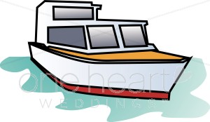library Nautical wedding . Yacht clipart boat dock