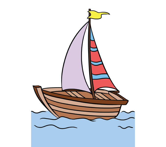 image library stock Yacht clipart boat tour. Sailboat drawing free download