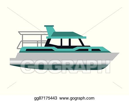 clip art royalty free Yacht clipart boat transport. Vector art icon eps