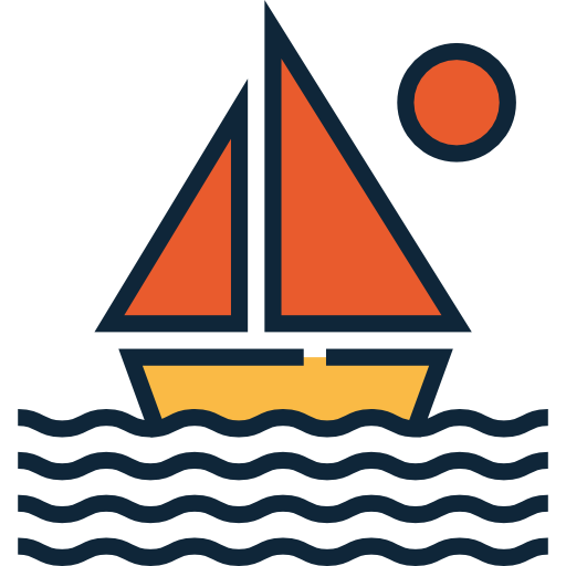 picture freeuse download Yacht clipart boat transport. Icon page