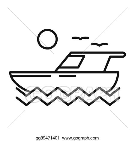 svg library library Clip art vector illustration. Yacht clipart boat trip