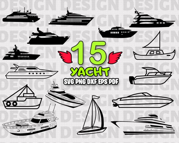 picture black and white Yacht clipart boat trip. Svg ship sailing sailboat