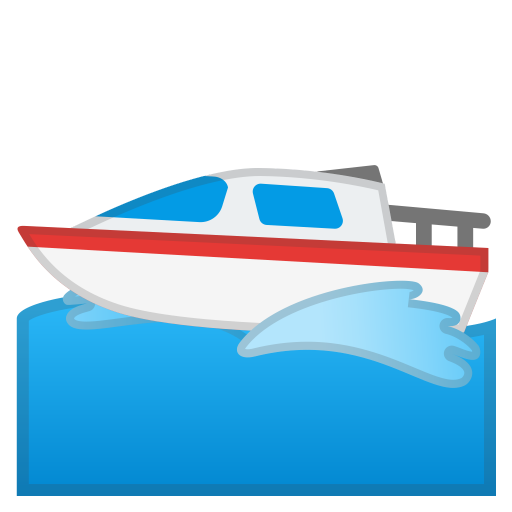 clipart free library Motor icon noto emoji. Yacht clipart boat