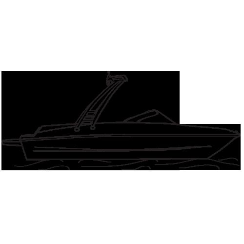 clip art royalty free Drawn ski boat free. Yacht clipart bote