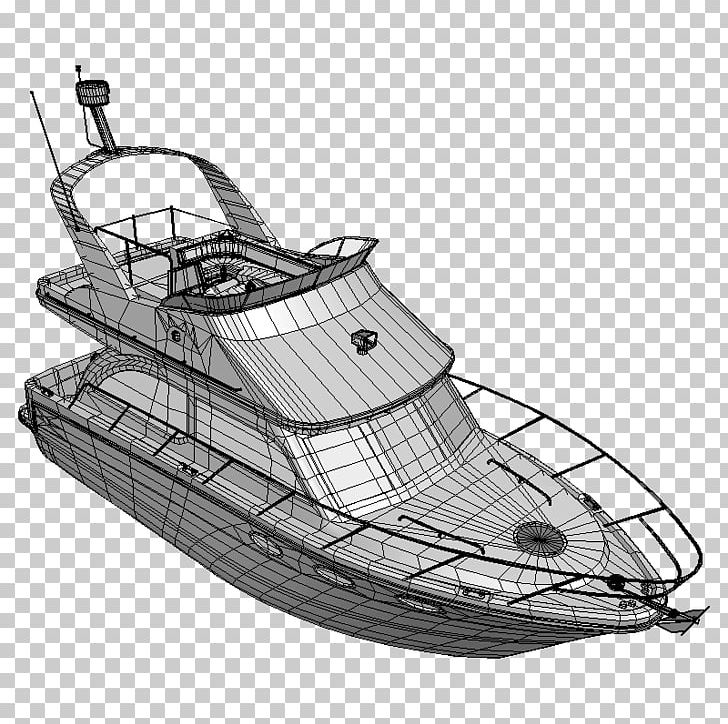 vector black and white download Boating ship png art. Yacht clipart cabin cruiser
